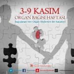 Organ Bağışı Haftası tasarımı