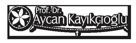 Aycan Kayıkçıoğlu - Logo White Shadow